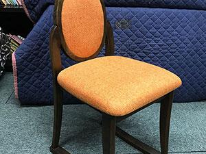 ドレッサー椅子張替