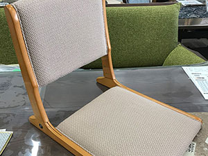 座椅子(折り畳み式)張替