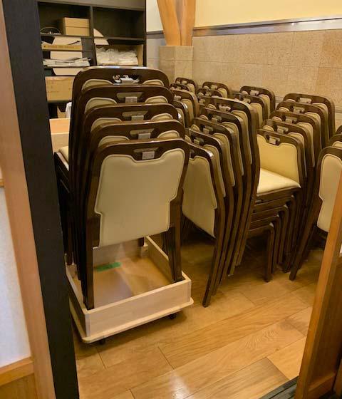 椅子用台車製作