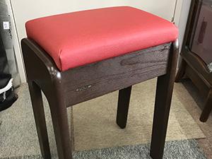 ミシン用椅子の張替修理